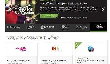 Groupon Coupons for moms