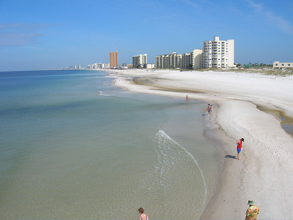 Strolling Panama City Beach is a great example of What to Do In Florida ... photo by CC user j.s. clark on Flickr