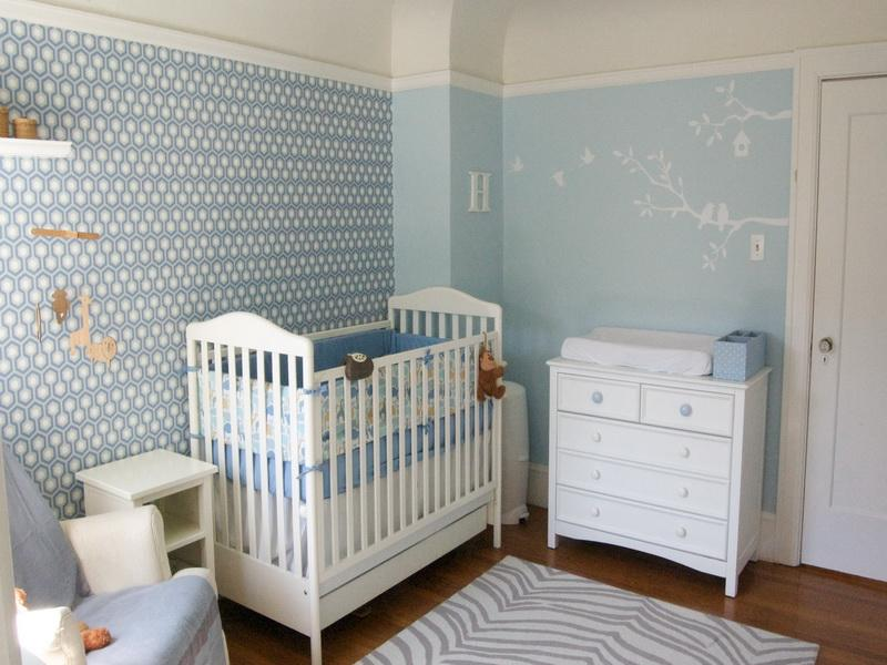 Focusing on Home Improvement for the Baby Arrival will give you a space like this...