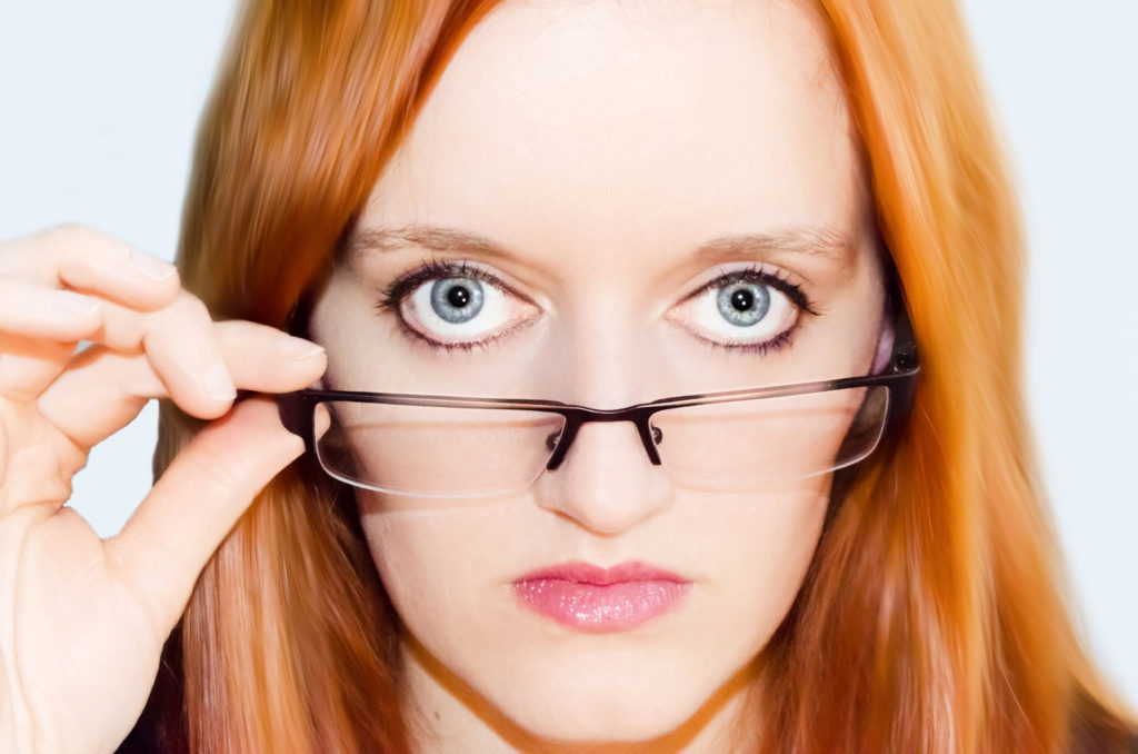 Why do many women suffer bad eyesight?